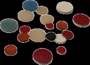 Septen Material – Silikon/PTFE Verschiedene Größen