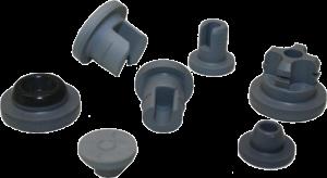 Stopfen Material – Silikon und Butylgummi Passende Größen und Formen