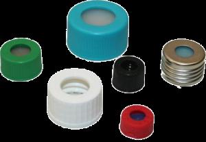 Lochschraubkappen verschiedene Farben verschiedene Größen